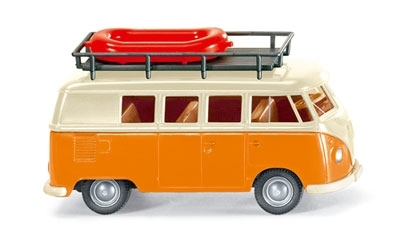 WIKING 0797 38 28 VW T1 Bus - elfenbein/orange