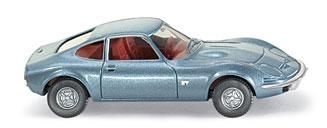 WIKING 0804 08 25 Opel GT - speedblue