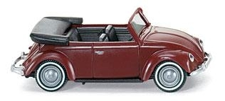 WIKING 0794 01 26 VW Käfer 1200 Cabrio - braunrot