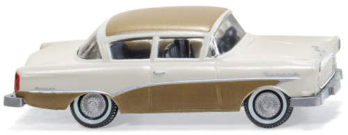 "WIKING 0080 40  Opel Rekord ""Ascona"" - creme/gold"