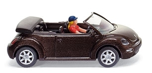 WIKING 0032 02  VW New Beetle Cabrio - dunkelbraun-metallic