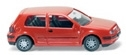 WIKING 0057 04  VW Golf IV - rot