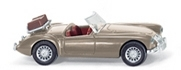 WIKING 0818 04 25 MG A Roadster - goldbeige