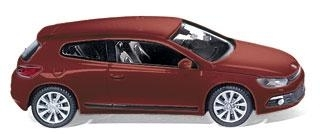 WIKING 0073 01  VW Scirocco - salsa red