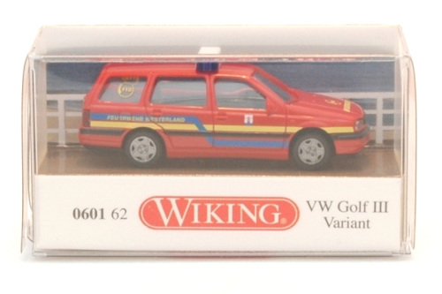 wiking 0601 62 vw golf iii variant feuerwehr westerland. Black Bedroom Furniture Sets. Home Design Ideas