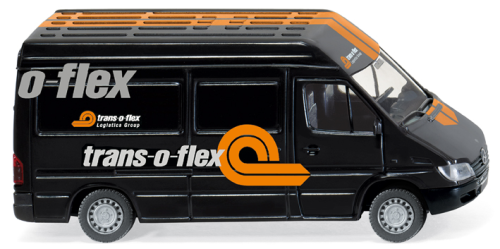 "WIKING 0285 49 MB Sprinter Kasten ""trans-o-flex"""