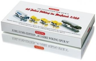 "WIKING 0990 65 49 Packung ""40 Jahre Wiking Spur N"""