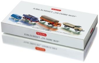 "WIKING 0990 62 58 Packung ""250 Jahre MAN"""