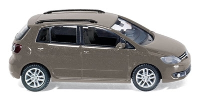 WIKING 0075 01  VW Golf VI Plus - kaschmirbraun-metallic
