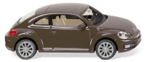 WIKING 0029 01  VW The Beetle (2011) - toffeebraun-metallic