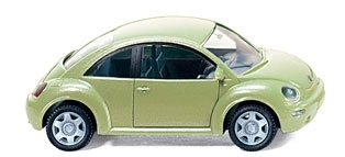 WIKING 0035 13  VW New Beetle - cybergreen-metallic