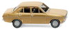 WIKING 0203 02 Ford Escort - 4-türig - gold-metallic
