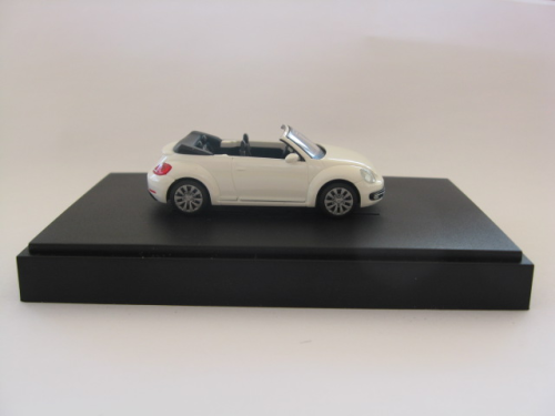 WIKING VW 5C3 099 301 B9A VW Beetle Cabriolet - Candy-Weiß