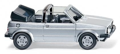 WIKING 0046 03  VW Golf I Cabrio - silber metallic