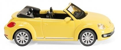 WIKING 0028 01   VW The Beetle Cabrio - saturn yellow