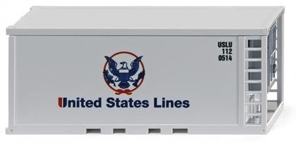 WIKING 0018 09  Zubehörpackung - Container div. US Lines