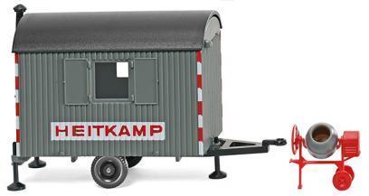 1//87 Wiking Bauwagen Heitkamp 0656 06